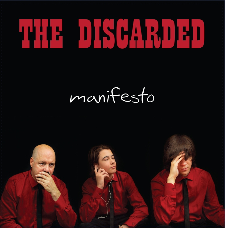 "The Discarded's second album ""Manifesto"" is now available."